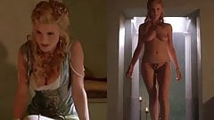 7 Dressed Undressed Girls From The TV Show Spartacus