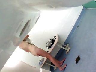 Locker room sexy - Sexy locker room voyeur 4
