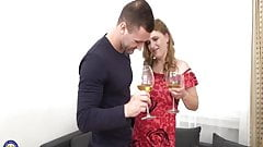 home sex with real mature mother in red stockings home vide