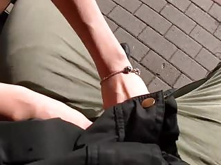 Xxx bus stop whore Bus stop creampie