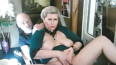 Spread your legs wider, my lustful mommy-bitch!