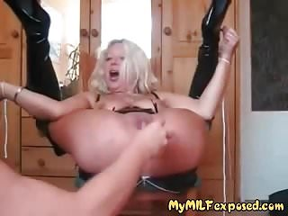 Free mature wife exposed My milf exposed anal fisting mature wife enjoying rough sex