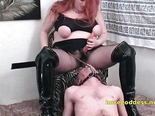 Redhead anal milf Massive tits redhead anal pegs her sissy slave