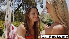Dani Daniels Licks And Fingers Her Sexy Friend