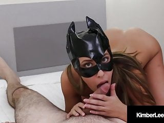 Hot black cat 4 adult video Hot young kimber lee covers her cat mask with sticky load