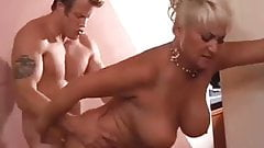 Blonde Mature MILF Shows Her Man She Can Still Do It