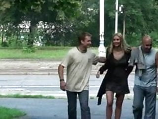Redtube public sex - Public sex with a gorgeous naked girl in public part 1