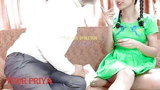 YourPriya – father's friend fucks Indian teen hard – Hindi sex