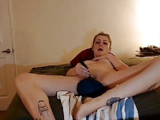 Dragon fist online game Small cock pulls dragon toy out of wife then fist fucks her