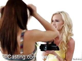 Get porn 69 c0m Nubiles casting hot teen swaps cum to get porn gig