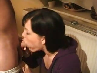 At home facial steamer Bad girl sucks dick at home
