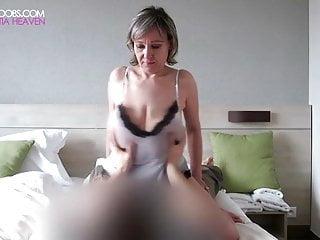 Barbaras beautiful tits Barbara intense big tit grabs