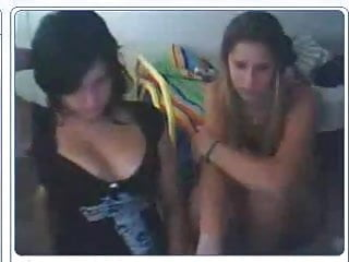 Latin voyeur Latin cousins play on cam when staying over