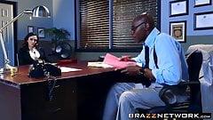 Attractive detective wants a black dick