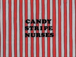 Vintage hyde leather tools Candy stripe nurses - candice rialson, kimberly hyde