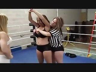 Bikini tickle fight - Pre-fight check 25
