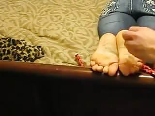 Naked woman inquisition foot torture Foot torture 2