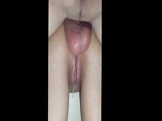 Tack strip nails - Young wife bend to tack anal hard