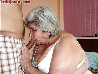 Cleavage photos of mature women - Hellogranny photo collection of mature latinas
