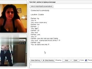 Make me cum or die Girl with big tits make me cum on chatroulette