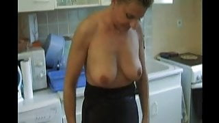 FRENCH PORN 21, anal babe mature stepmom milf in bisex with strapon