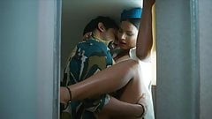 Horny Indian Air hostess Hard Fucking  with Young Traveller