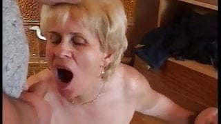 Slut Euro matures perverse home porn party