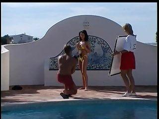 Sexy swimwear juniors - Sam gets her gal - swimwear