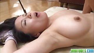 Pretty hottie Miki is a fan of bondage