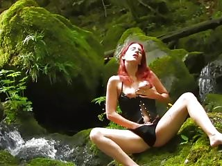 Sex in the weirdest places Horny girl gets sex in a beautiful place