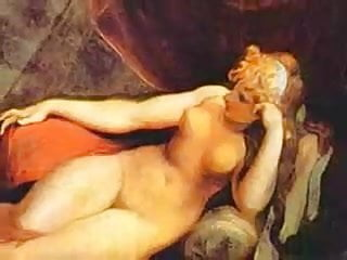 Art vintage work Famous nudes in the arts