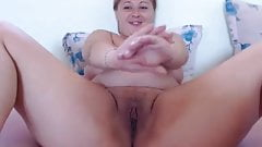 Friendly thick crumpet fervently fingers her juicy patty
