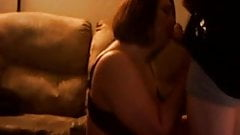 Mature BBW cheating on husband with young guy