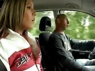 Teen fucked panty Teen in white panties fucks old man in the car
