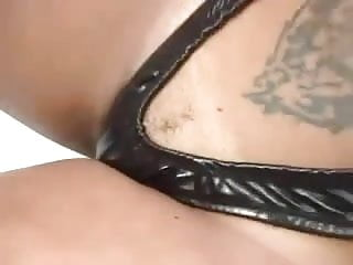 Piercing clit - Beautiful tranny fucks big clit pierced hottie