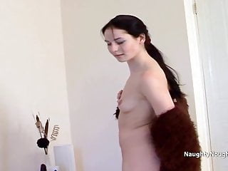 Nude home life - Showing nude body while talking about her sex life