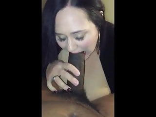 Bj tit fuck Bbw big boobs gives bj and tit fuck