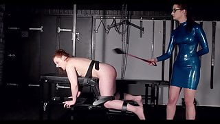 lezdom hard torture punishment compilation