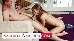Naughty America - Alyssa Branch fucks her sugar daddy
