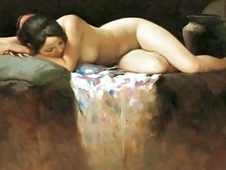 Sexy vintage nude art - The nude in art