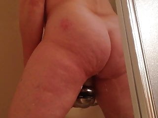 Orgasms in the shower Spying on marie masturbating in the shower