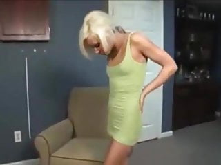 Her clit is to small Skinny blonde pumping her pussy