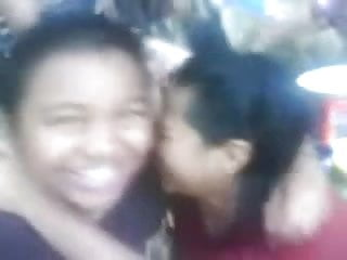 Orgasm in front of friends Malay- lesbian couple smooching in front of friends
