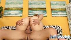 Jeffs Models - BBW Winter Wolf Cowgirl Compilation 3
