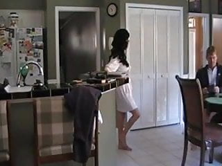 Piss on 48 - Hot fuck 48 milf doggystyle over the kitchen table