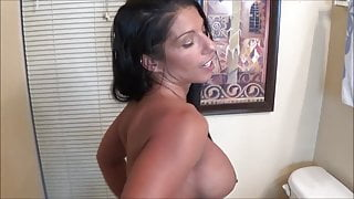 Mom Tries On Bikinis In Front of Step Son - Family Therapy