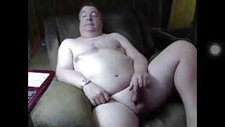 Chubby daddy little hard cock