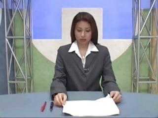 Bukkake japanese mpeg - Japanese newsreader bukkake
