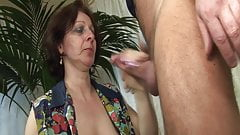 Grandmas horny dream