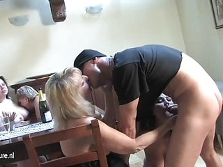 Teenagers fucking slut load Guy fucking a load of mature sluts at once